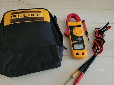 Fluke 322 Clamp Meter Wcase And Leads