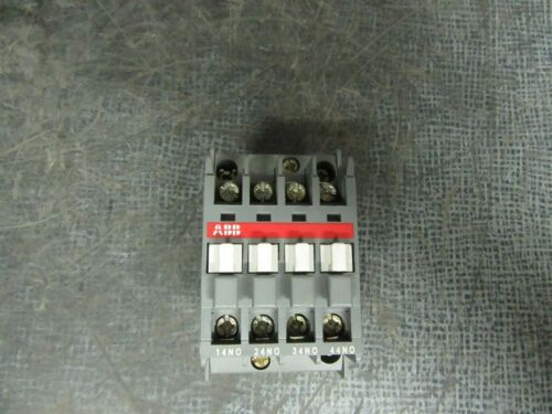 ABB CONTACTOR N71E 400V 3A COIL: 120V 60HZ **WARRANTY INCLUDED**