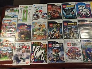 Tons of wii games!!