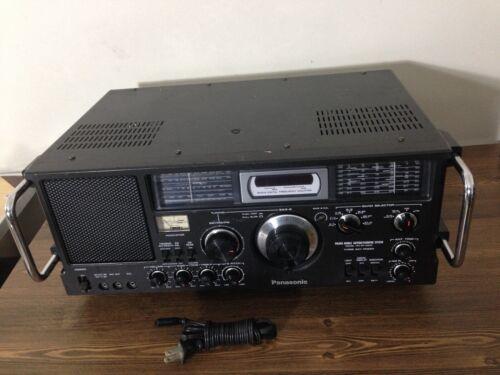 Panasonic 10BAND FM/AM/SW1-8  Receiver Model No RF-4800, Good Condition