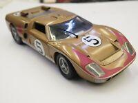 Ford gt40 Mk I 24h le mans 1964 Richard Attwood jo schlesser 1:43 Spark 5189 nuevo