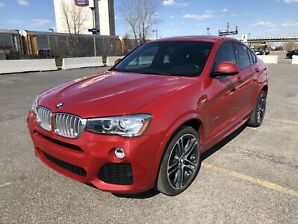 2015 bmw x 4 msport package with 84,000 kms
