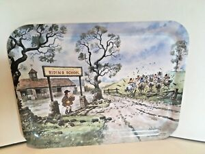Vintage Thelwell Cartoon Ponies Tray