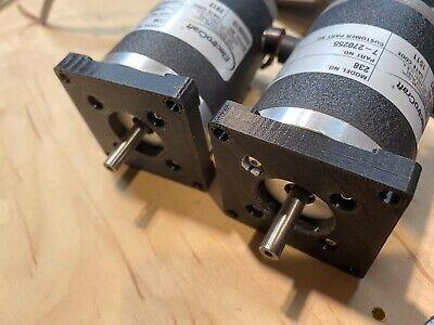 Electro-craft Dc E-238 Servo Motors Lot Of 2