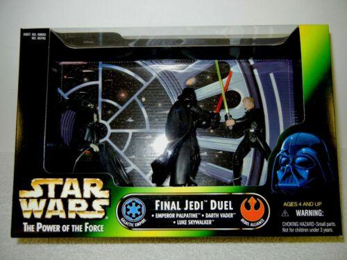 STAR WARS JEDI DUEL : Darth Vader, Luke Skywalker, Emperor Palpatine