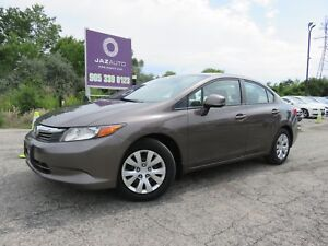 2012 Honda CIVIC LX GREAT PRICED 2012 CIVIC BLUE-TOOTH SAFETY IN