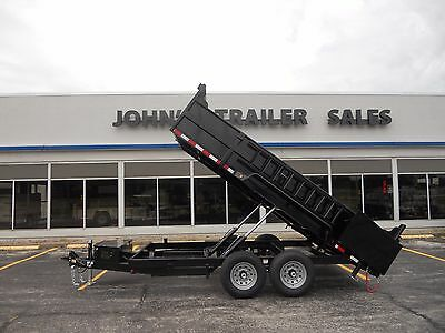 Brand New 2018 83 X 14 Dump Trailer 14000 G.v.w.r. Quality Steel Skid Jacks
