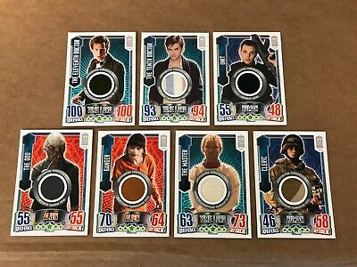 Doctor Who 50th Anniversary LE Attax Costume Relic Wardrobe Card Set 11th 12th](Doctor Who 11th Doctor Costume)