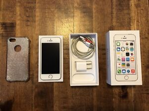 iPhone 5s Gold 16GB (2 of the same) $175 each or $325 for both.