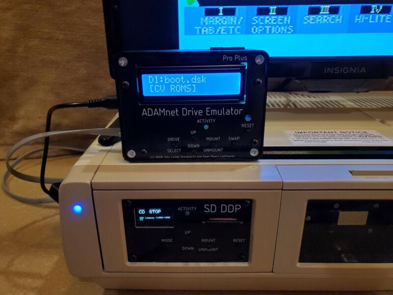 Professionally Built Coleco ADAM Drive Emulator Pro Plus (ADE Pro Plus)