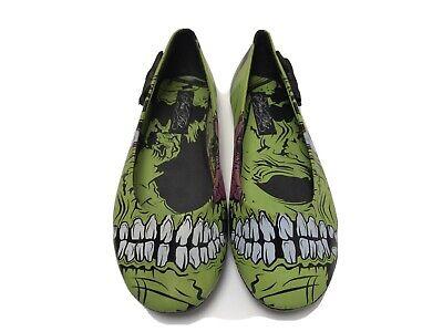 Iron Fist Zombie stomper Ladies Flat Pump Shoes (UK 5)
