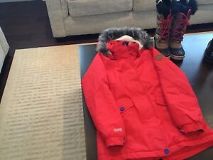 McKinley 3/4 winter jackets for kids with boots