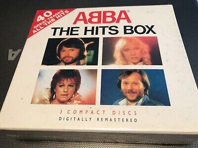 ABBA THE HITS BOX Box still sealed Never opened Extremely rare to find BOX D1