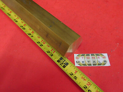 1-12 C360 Brass Hex Bar 24 Long New Lathe Bar Stock 1.50 Hex 12 Hard