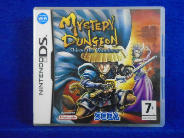 ds MYSTERY DUNGEON Shiren The Wanderer A RPG Game Lite Dsi 3DS Nintendo PAL