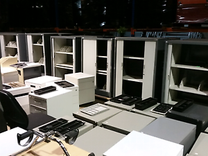 Like new office furniture filing cabinets storage chairs desks ta Lansvale Liverpool Area Preview