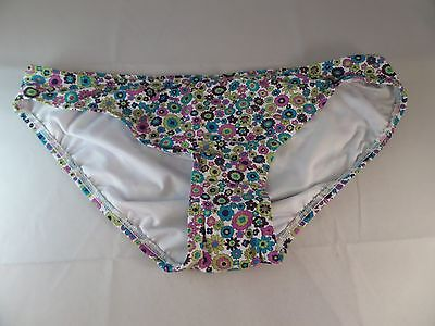 NWT Coco Rave Floral Print Classic Bikii Bottom Pretty Woman Size XL Must - Rave Must Haves
