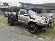 2007 Toyota Hilux 4x4 single cab Mornington Clarence Area Preview