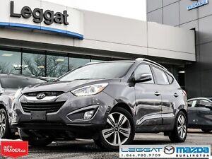 2014 Hyundai Tucson Limited- LEATHER, MOONROOF, NAVIGATION