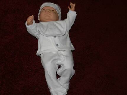 BABY BORN DOLL WITH ORIGINAL PANTS AND ALL NEW WHITE CLOTHING Ashburton Boroondara Area Preview