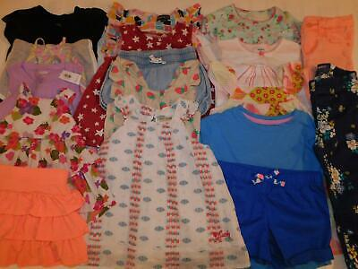 Girls 2T Spring Summer Shirts Shorts Rompers Pajamas Pants Clothes Outfit Lot