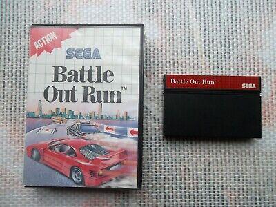 Jeu Master system / Ms Game Battle Out Run+ Boite SEGA retrogaming original*