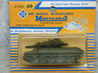 Roco Minitanks (New) Modern US M-551 Sheridan Light Scout Tank  Lot #2317, used for sale  Chicago