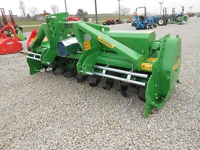 Rotary Tiller 8-6 Valentini A2500tractor 3-ptpto Qh Compat Hd 200hp Gbox