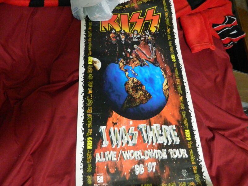 KISS 1996-1997 Tour Poster