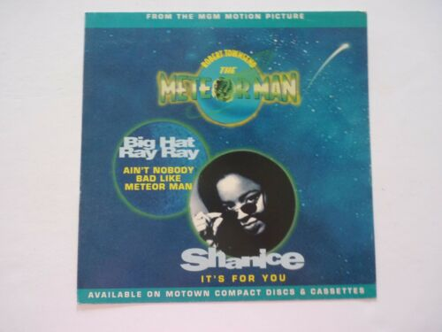 Shanice It's For You Meteor Man Movie LP Record Photo Flat 12X12 Poster