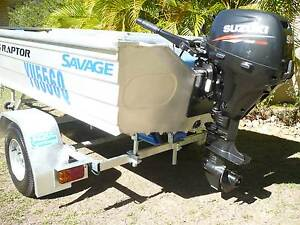 LESS THAN 4 HRS , 355 SAVAGE, 9.9 hp 4 Stroke SUZUKI, REDCO Trail Cooroy Noosa Area Preview