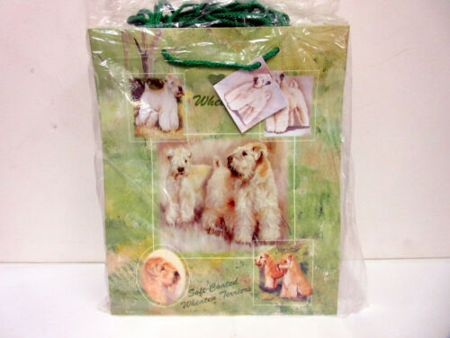 New Wheaten Terrier Dog Gift Bag Set 10 Large Bags Terriers By Ruth Maystead