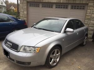 Audi A4 - 89,000kms - New Winter Tires - Best Offer!