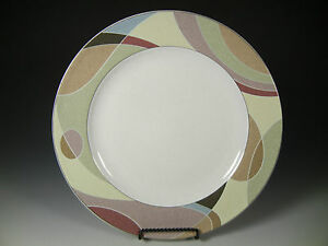 mikasa studio nova kaleidoscope dinner plates 10 3 4 in ebay