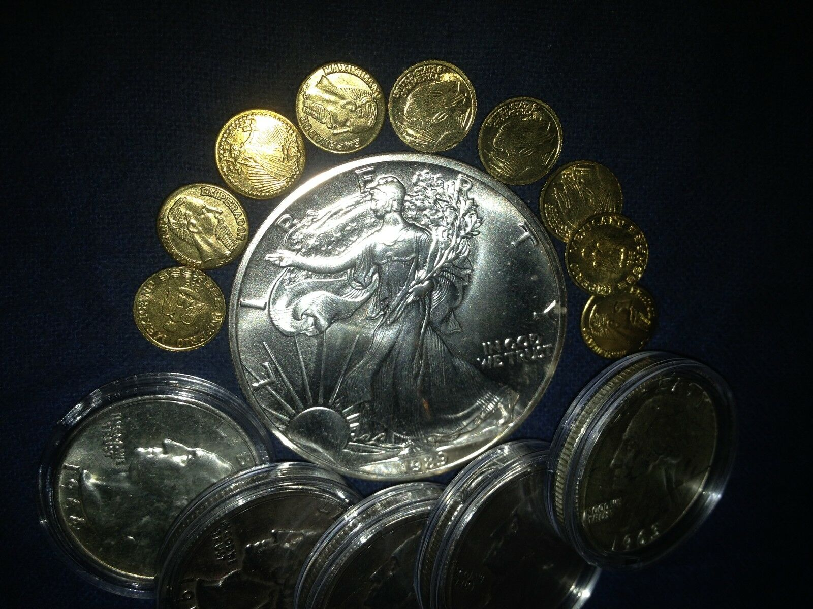 Silver Eagle Coins and Collectibles