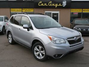 2014 Subaru Forester 2.5i Touring Package - Cam, Roof, H. Seats, AWD