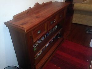 Hall side table solid wood Waverley Eastern Suburbs Preview