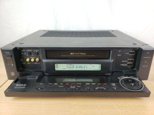Sony SLV -R1000 Video cassette Recorder SVHS VCR  fully Tested & Working Conditi