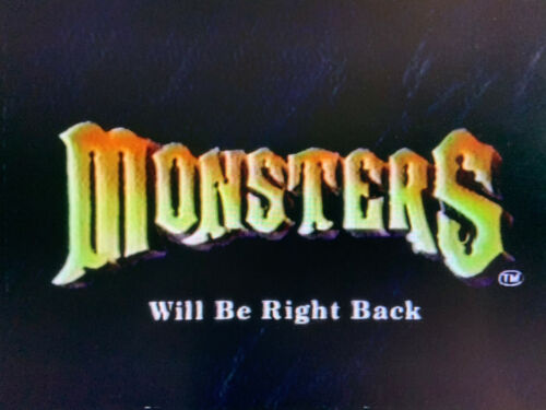 Monsters 6hrs 80s Commercials VHS Sold as Blank Halloween Tales Darkside Horror