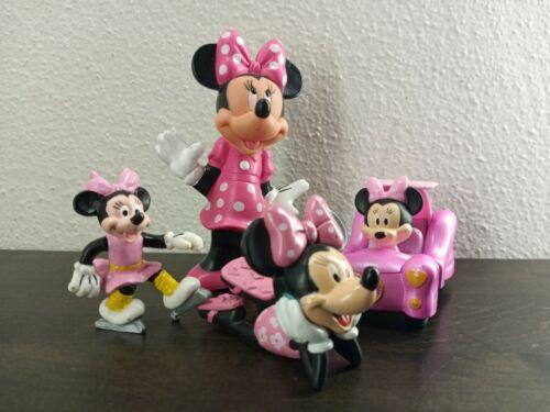Disney Minnie Mouse Figures Lot of 4 pieces