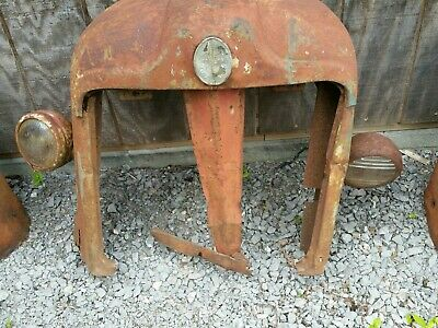 Antique Fordson Tractor Grill Rat Rod Repurpose Wall Art