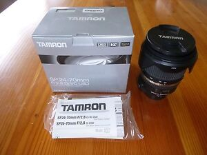 Tamron Lens SP24-70mm F/2.8 with Hoya ProSeries polarising filter Clayfield Brisbane North East Preview
