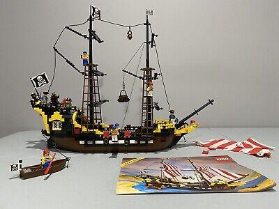 Vintage Lego Black Seas Barracuda 6285 With Instructions, Complete, Extra Pieces
