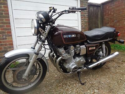 1980 Suzuki GS850G us import classic bike ride or restore great project now£1699