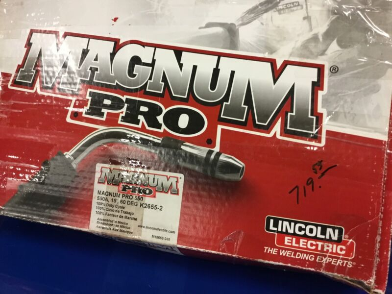 LINCOLN  ELECTRIC PRO MIG GUN 550 - INDUSTRY
