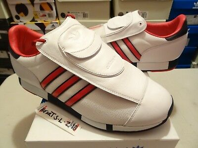 release date: 7901f c9aeb NEW Adidas Pacer DB David Beckham G07176 WhiteRed Mens Size 11 Sneakers  Shoes
