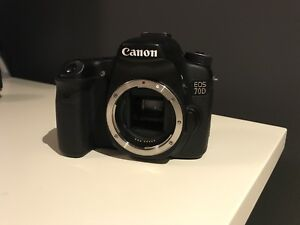 Canon 70D (Body) Mint Condition