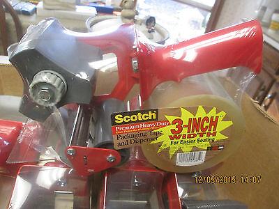 2 Pc Lot 3m Scotch Tape Gun Dispenser Heavy Duty 3inch Wide Bp-15 Model 12000