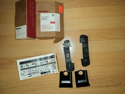 Yakima Q24 Q Tower Clips w// A Pads /& Vinyl Pads #00624 2 clips Q 24 NEW in box