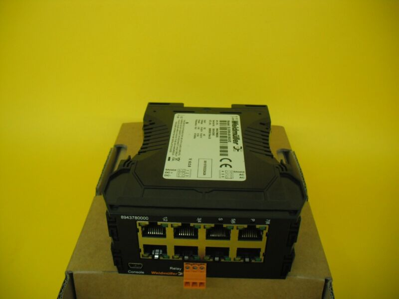 Weidmuller Managed Switch Ie-sw8-m-wave Rev B